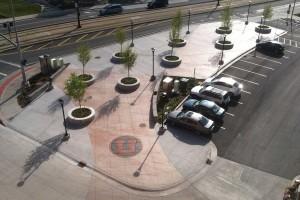 University of Utah Stadium Plaza