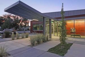 Grantsville Library entrance