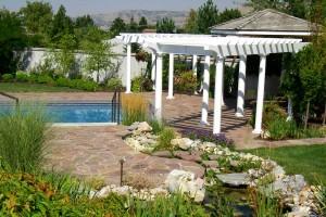 terraced landscape design