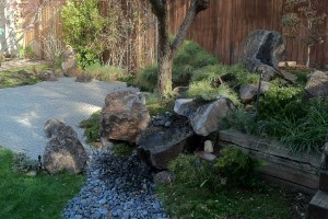 asian style garden
