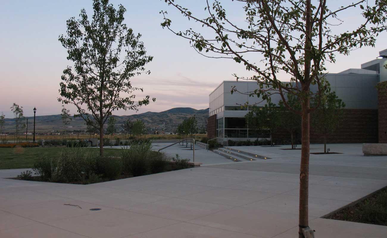 jl sorensen recreation center u0026 herriman library g brown design