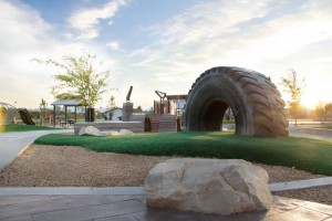 Lodestone Park Custom Playround Mining Tire