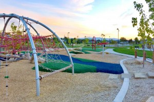 Lodestone Park Playground Climbing Nets