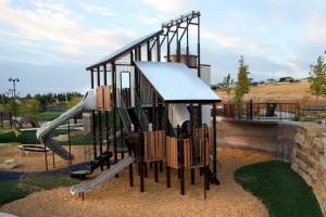 Lodestone Park Playground Climbing Tower