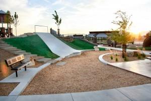 Lodestone Park Playground Landslide