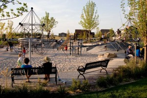 playgrounds as a gathering space