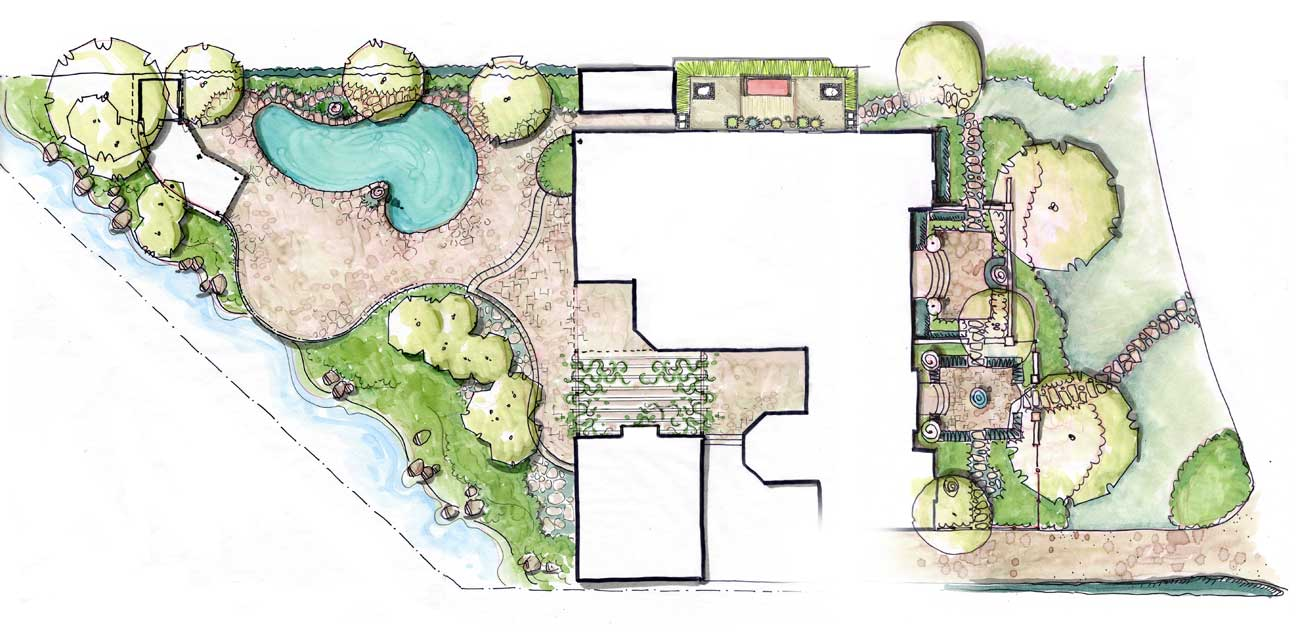 Top 20 zen garden design plan modern zen gardens viewing for Zen garden designs plan