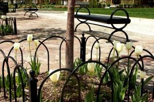 metal loop fence