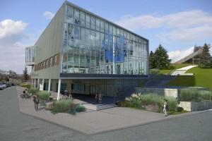 USU Athletics Building exterior