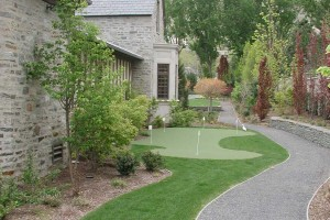 side yard path