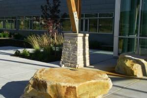 boulder seating