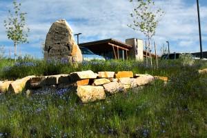boulder monument sign