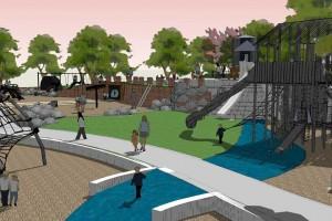 computer rendering of Lodestone Park