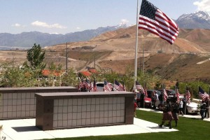 memorial service at columbarium plaza