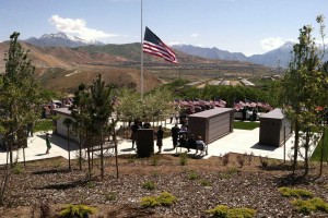Memorial Day at the Veterans Cemetery plaza