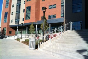 entrance into student housing