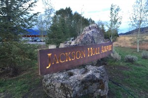 Jackson Hole Airport - Entry Sign