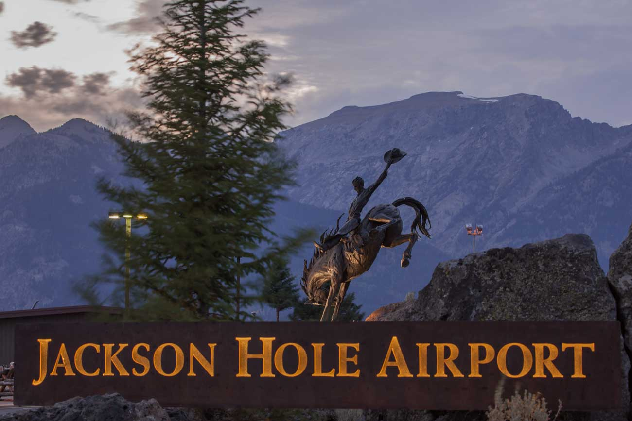 Jackson Hole Airport Entry G Brown Design