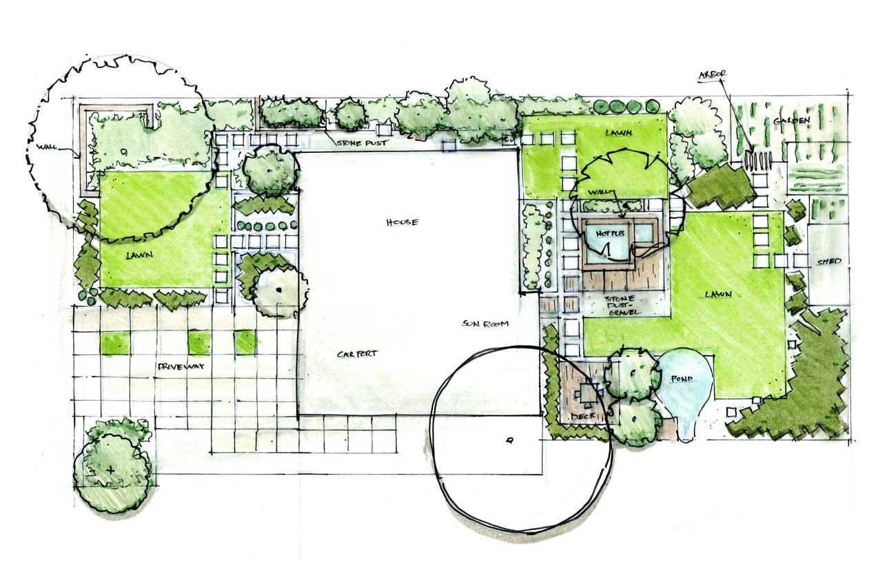 Residential Design Concept 1 G Brown Design